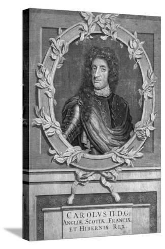 Charles II, King of England, Scotland and Ireland- Marrebeeck-Stretched Canvas Print