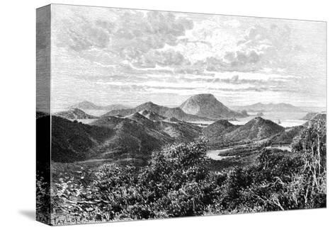 West Indian Scenery, View Taken in the Saintes Islands, C1890- Maynard-Stretched Canvas Print