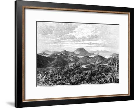 West Indian Scenery, View Taken in the Saintes Islands, C1890- Maynard-Framed Art Print