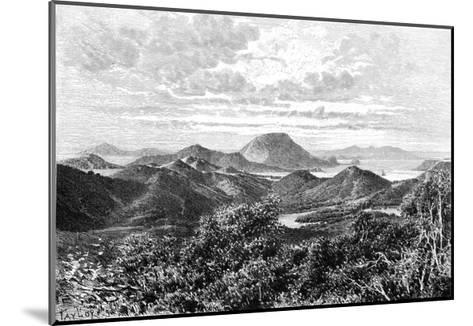 West Indian Scenery, View Taken in the Saintes Islands, C1890- Maynard-Mounted Giclee Print