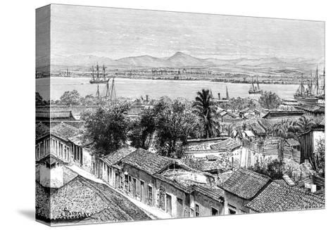 General View of Santiago, Cuba, C1890- Maynard-Stretched Canvas Print