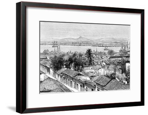 General View of Santiago, Cuba, C1890- Maynard-Framed Art Print