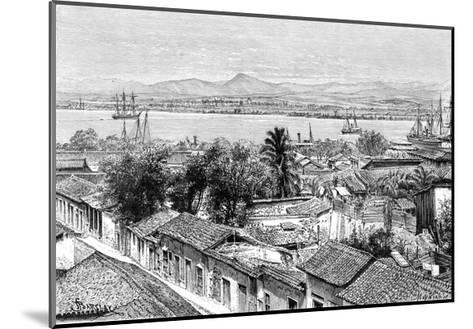 General View of Santiago, Cuba, C1890- Maynard-Mounted Giclee Print