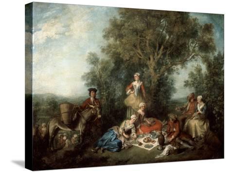 The Autumn, 1738-Nicolas Lancret-Stretched Canvas Print
