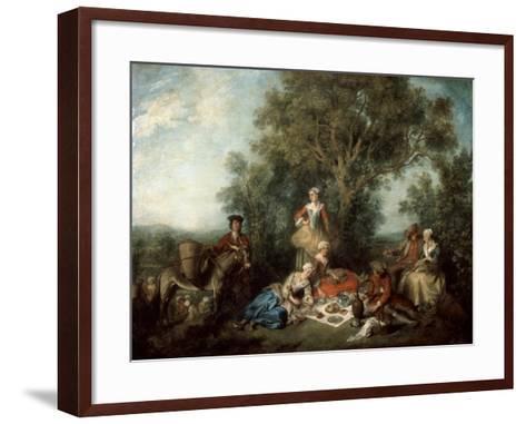 The Autumn, 1738-Nicolas Lancret-Framed Art Print