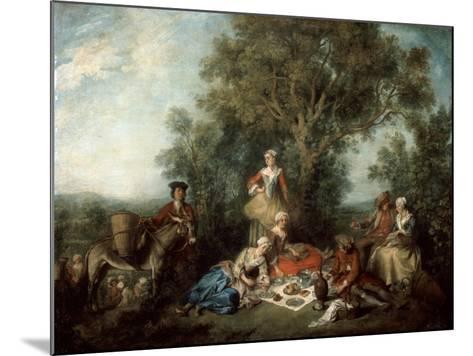 The Autumn, 1738-Nicolas Lancret-Mounted Giclee Print