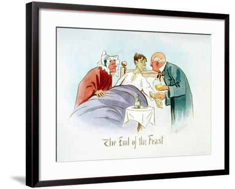 The End of the Feast, C1895-Martin Anderson-Framed Art Print
