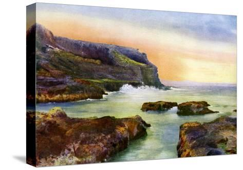 The Cliff, Castlerock, Londonderry, Northern Ireland, 1924-1926-MC Green-Stretched Canvas Print