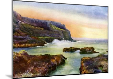 The Cliff, Castlerock, Londonderry, Northern Ireland, 1924-1926-MC Green-Mounted Giclee Print