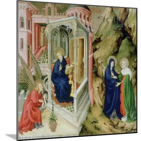 Annunciation and Visitation, 1394-1399-Melchior Broederlam-Mounted Giclee Print