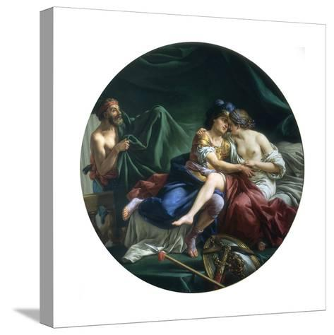 Mars and Venus Discovered by Vulcan, 1768-Louis Jean Francois Lagrenee-Stretched Canvas Print