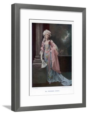 Winifred Emery, English Actress, 1901- Mendelssohn-Framed Art Print