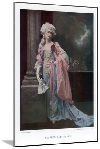 Winifred Emery, English Actress, 1901- Mendelssohn-Mounted Giclee Print