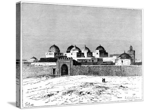 The Mosque of the Swords, Kairwan, C1890- Meunier-Stretched Canvas Print