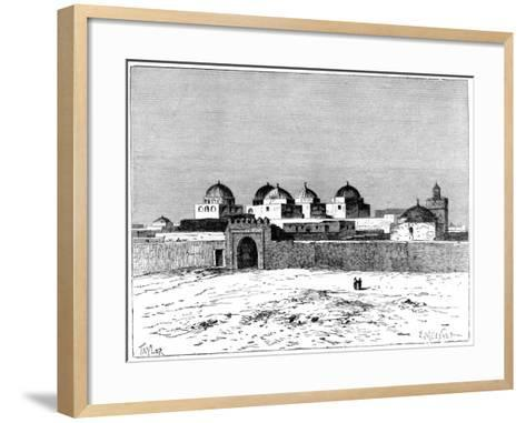 The Mosque of the Swords, Kairwan, C1890- Meunier-Framed Art Print