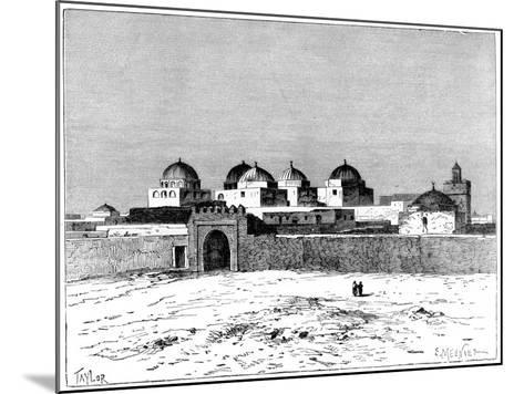 The Mosque of the Swords, Kairwan, C1890- Meunier-Mounted Giclee Print