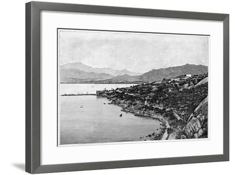 View of Stora Bay, C1890- Meunier-Framed Art Print