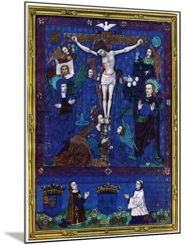 Plaque, Enamel Paint on Copper, 1503-Nardon Penicaud-Mounted Giclee Print