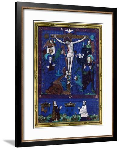 Plaque, Enamel Paint on Copper, 1503-Nardon Penicaud-Framed Art Print