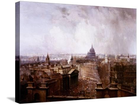 The Heart of the Empire, 1904-Niels Moeller Lund-Stretched Canvas Print