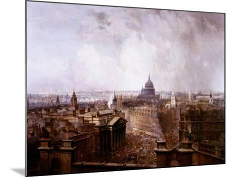 The Heart of the Empire, 1904-Niels Moeller Lund-Mounted Giclee Print