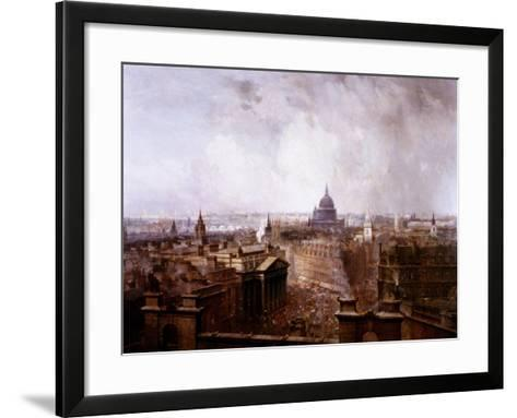 The Heart of the Empire, 1904-Niels Moeller Lund-Framed Art Print