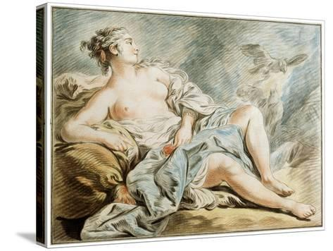 Venus with Doves, 18th Century-Louis Marin Bonnet-Stretched Canvas Print