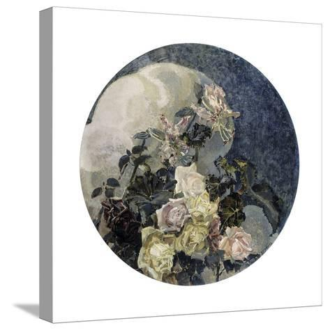 Roses and Orchids, 1894-Mikhail Vrubel-Stretched Canvas Print