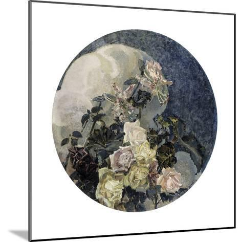 Roses and Orchids, 1894-Mikhail Vrubel-Mounted Giclee Print