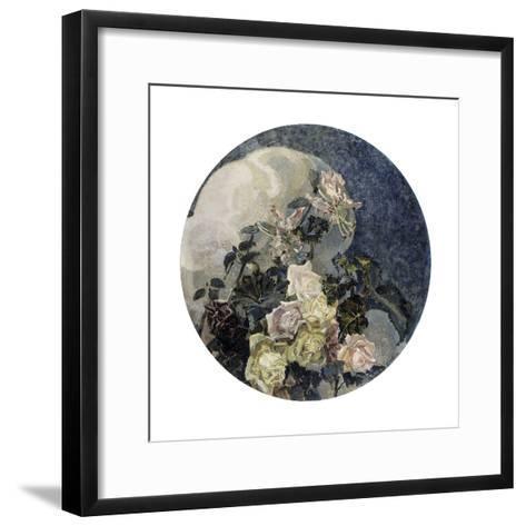 Roses and Orchids, 1894-Mikhail Vrubel-Framed Art Print