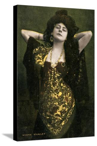 Norma Whalley, Australian Actress, Early 20th Century-Miller and Lang-Stretched Canvas Print