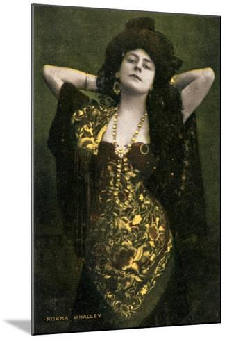 Norma Whalley, Australian Actress, Early 20th Century-Miller and Lang-Mounted Giclee Print