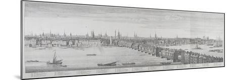 London Bridge, London, 1749-Nathaniel Buck-Mounted Giclee Print