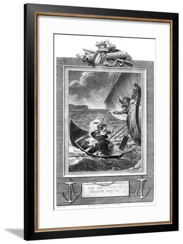 The Exposure of Prince Edwin-Milton-Framed Art Print