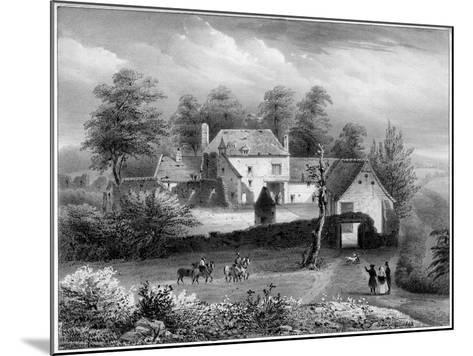 The Château D'Hougoumont, Belgium, 19th Century- Loux-Mounted Giclee Print
