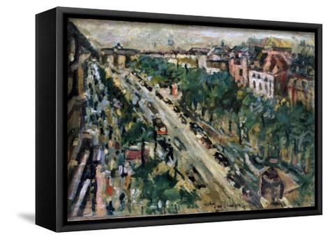 Berlin, Unter Den Linden, 1922-Lovis Corinth-Framed Canvas Print