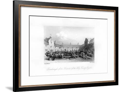 Hospital of the Holy Trinity, Croydon, 1840-MJ Starling-Framed Art Print