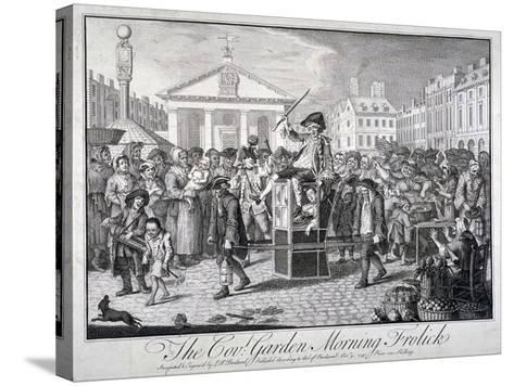 The Cov: Garden Morning Frolick, 1747-LP Boitard-Stretched Canvas Print
