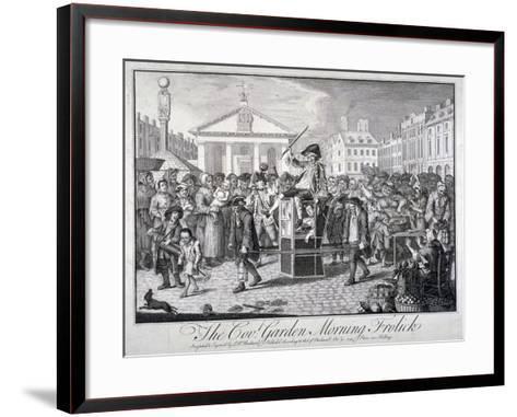 The Cov: Garden Morning Frolick, 1747-LP Boitard-Framed Art Print