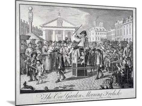The Cov: Garden Morning Frolick, 1747-LP Boitard-Mounted Giclee Print