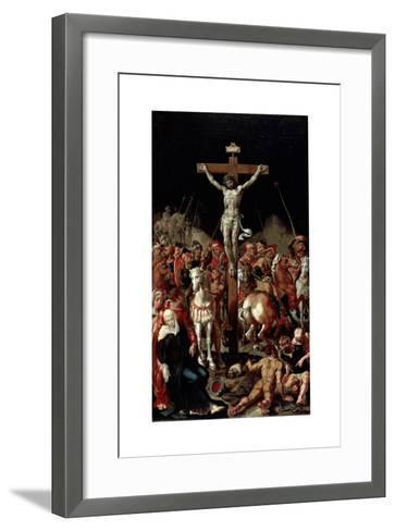 Calvary, Between 1545 and 1550-Maerten van Heemskerck-Framed Art Print
