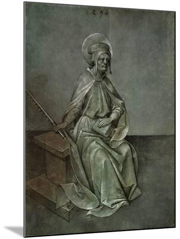 The Apostle Simon, 1496-Mair von Landshut-Mounted Giclee Print