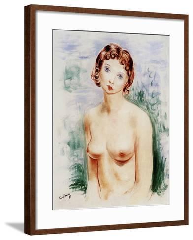Female Nude, 20th Century-Moise Kisling-Framed Art Print