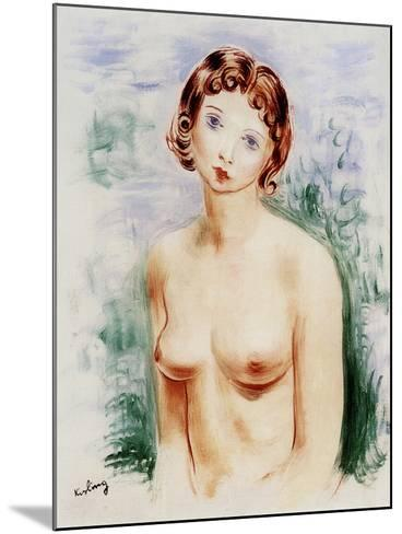 Female Nude, 20th Century-Moise Kisling-Mounted Giclee Print