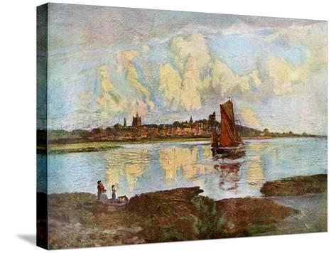 Maldon, from Heybridge, Essex, 1924-1926-Louis Burleigh Bruhl-Stretched Canvas Print