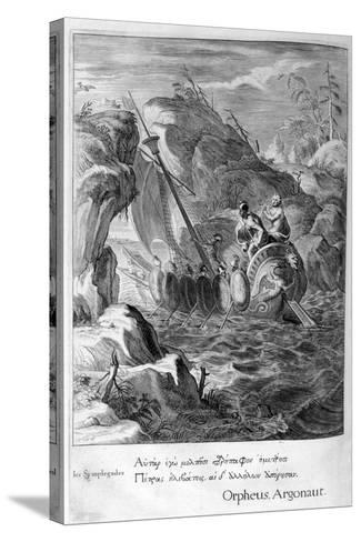 The Argonauts Pass the Symplegades, 1655-Michel de Marolles-Stretched Canvas Print