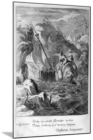 The Argonauts Pass the Symplegades, 1655-Michel de Marolles-Mounted Giclee Print