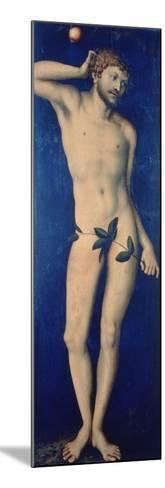Adam, 1528-Lucas Cranach the Elder-Mounted Giclee Print