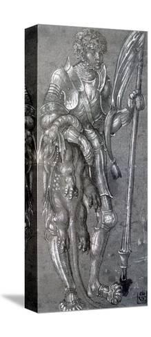 St George, C1504-1553-Lucas Cranach the Elder-Stretched Canvas Print