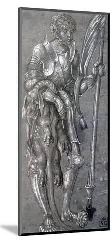 St George, C1504-1553-Lucas Cranach the Elder-Mounted Giclee Print